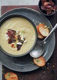 creamy fennel biltong and goat s cheese soup