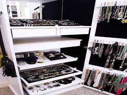 amazing closet jewelry organizer organization jewelry display
