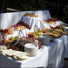 Wedding Food Tables The Pros And Cons Of A Buffet Reception Buy Wedding Sparklers