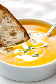 If you love a soup for fall or winter this is a great recipe. Creamy Butternut Squash Soup With Apple And Onion