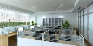 3d office design. 3d Office Interior Stock Photo - 10305234 Design