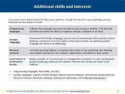 language skills in resumes examples of additional skills for resume examples of resumes