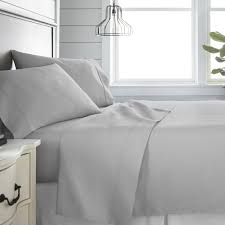 this review is from 4 piece light gray 300 thread count cotton king bed sheet set
