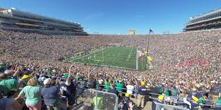 Notre Dame Stadium Section 118 Rateyourseats Com