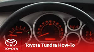 2007 Tundra Airbag Light On 2007 2009 Tundra How To Instrument Panel Lighting Toyota