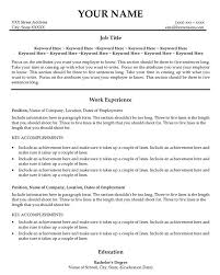 Good Printable Resume Examples Resume is also needed to help the recruiter  to know about your