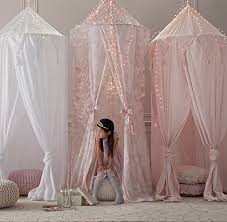 Cotton Voile Play Canopy from RH Baby & Child. Saved to ...