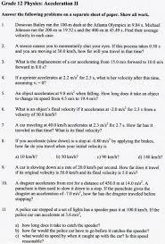 Kids Speed Problem Worksheet Ab Motion Problems Wkst Key Aab F Cd