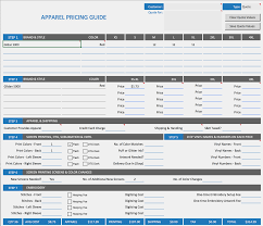 Invoice Price Calculator Shirt Business Toolkit Screen Printing Price Calculator