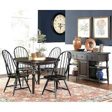 heritage round dining table room furniture set w chairs drexel used heri