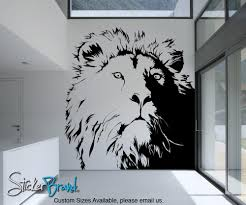 Small Picture Wall Decoration Lion Wall Decal Lovely Home Decoration and