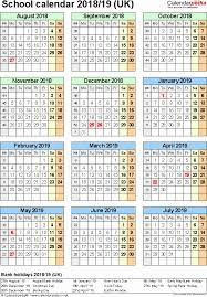 School Calendar 2015 2019 Template Academic Calendar Year Template Sharedvisionplanning Us