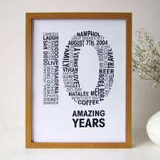 Personalised Anniversary Print By Mrs L Cards Notonthehighstreet Com