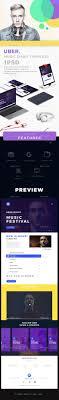 Music Newsletter Templates Uber Music Email Template Psd E Newsletter Templates Email