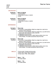 Examples Of Resumes Resume Layout Design Cover Letter Template
