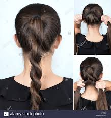 Hair Style Simple simple hairstyle twisted plait tutorial easy hairstyle for long 2617 by wearticles.com