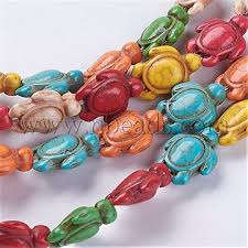 19mm Mixed <b>Color</b> Tortoise Synthetic Turquoise <b>Beads</b>(G-E456 ...