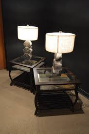 new end table lamps for living room within silver lamp base awesome floor coursecanary com