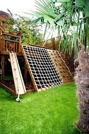 backyard climbing wall backyard kids backyard playground 9 plans for outdoor play structures designs climbing backyard