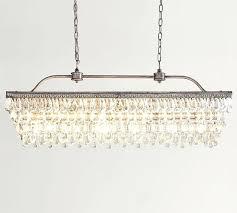 crystal drop chandelier crystal drop rectangular chandelier clarissa crystal drop rectangular chandelier installation