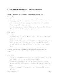 Self Performance Appraisal Comments Examples Vbhotels Co