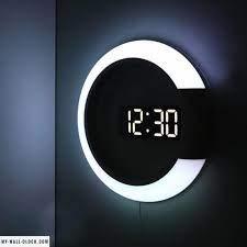 digital table clock led wall clock
