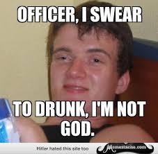 Officer, I swear - Memestache via Relatably.com