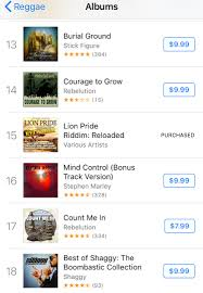 Lion Pride Reloaded Debuts High On Itunes Reggae Chart