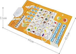 Alphabet Numbers Chart Kids Russian Characters Sound Wall Chart Lanuage Abc Alphabet Number Flipchart Flip Chart Early Learning Education Machines
