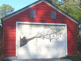 painting garage doorDecorating Diva Tips Paint A Mural on Your Garage Door Ideas and