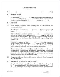 Promissory Note Real Estate Sample
