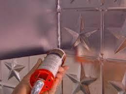 Kitchen Backsplash Tin How To Create A Tin Tile Backsplash Hgtv