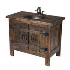 rustic vanity with sink made from reclaimed barn wood bathroom vanity barnwood mirror oyster pendant lights