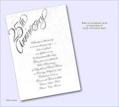 invitation letter wedding anniversary elegant wedding invitations