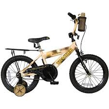 roadmaster boy s roadmaster tracker cruiser bike with training