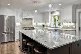 kitchen large transitional u shaped dark wood floor and brown floor kitchen idea in