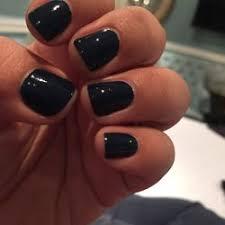 photo of beauty box nail bar london united kingdom dark teal regular manicure