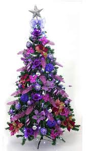 Purple Christmas Time For The Holidays With Regard To Tree Decorations  Remodel 16