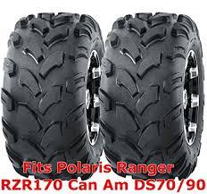 Amazon Com 2 Wanda Atv Tires 19x7 8 19x7x8 Polaris Ranger