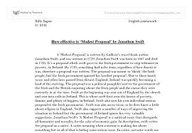 my own modest proposal essay my modest proposal an essay fiction fictionpress