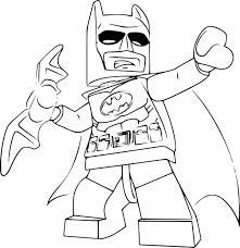 Coloriage Lego Batman Imprimer