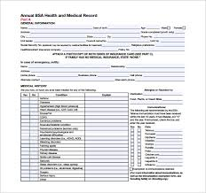 9 Bsa Medical Forms – Free Samples, Examples & Format | Sample Templates