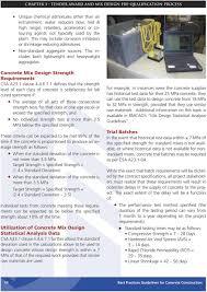 Csa Concrete Mix Design The Best Practices Guidelines For Concrete Pdf Free Download