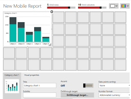 Data Types In Ssrs Mobile Reports Category Charts Aunt