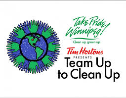 Community Clean Up Flyer Template Team Up To Clean Up Take Pride Winnipeg