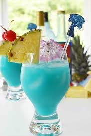 Perfect Blue Recipe Drink Cocktail the Hawaiian Tropical