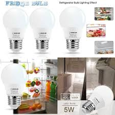 details about lohas led refrigerator light bulb 40w equivalent 120v a15 led l 5 watt dayl