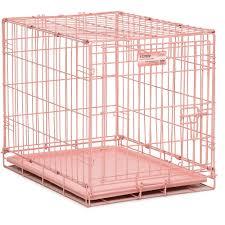 midwest  pink single door icrate dog crate  walmartcom