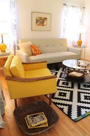 mid century modern living rooms. mid century modern living room - small bungalow midcentury-living-room rooms e
