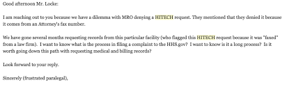 Medical Records Request Letter From Attorney Hitech Act Getting Medical Records For Cheap Georgia Personal